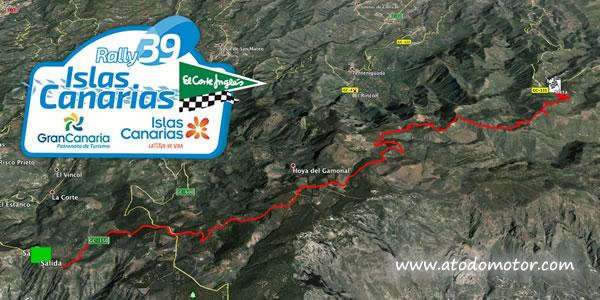 Tramos Virtuales del Rally Islas Canarias El Corte Inglés 2015