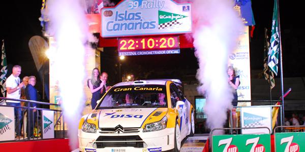 Arrancó el Rally Islas Canarias 2015