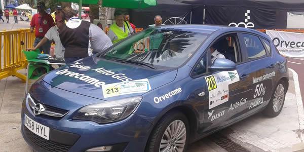 DISA AutoGas en el rally Islas Canarias 2015
