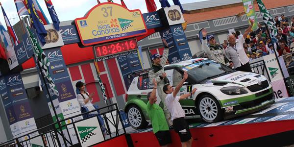 El Rally Islas Canarias vuelve al ERC