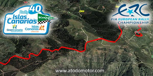 Tramos Virtuales del Rally Islas Canarias ERC 2016