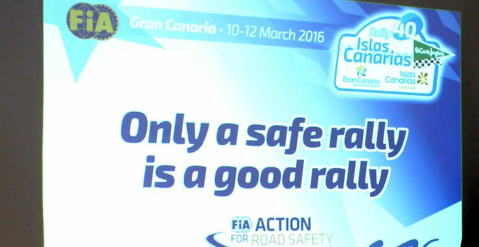 La seguridad, prioritaria para el Islas Canarias