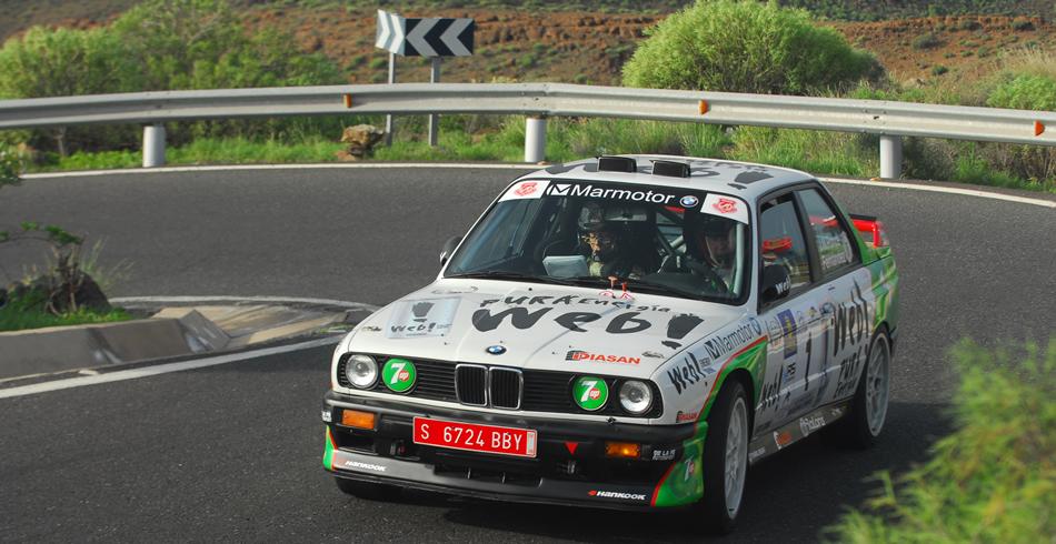 Ultima prueba con el M3, en el Rallye de Maspalomas 2015