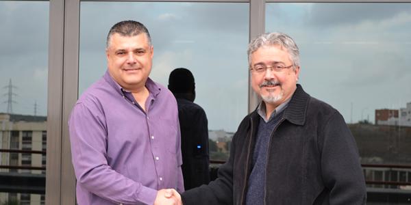 Manu Naranjo y Martín J. Marrero Pérez Director de Comunicación