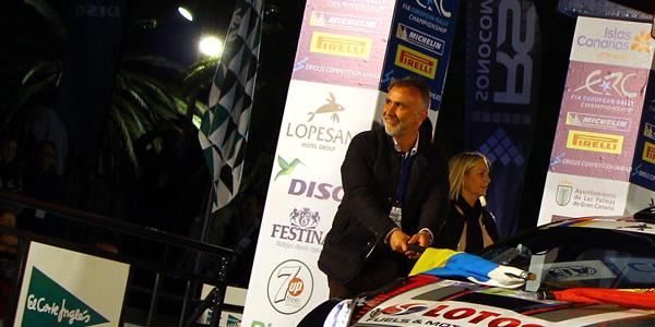 Comienza el 40º Rally Islas Canarias ERC 2016