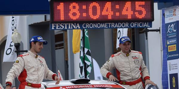 Cristian García y Eduardo González
