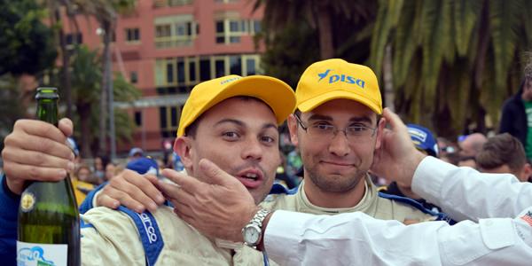 Antonio Acosta y Yeray Mujica