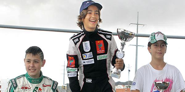 Santi Concepción JR logra su primer Campeonato: el Insular de Tenerife de Karting