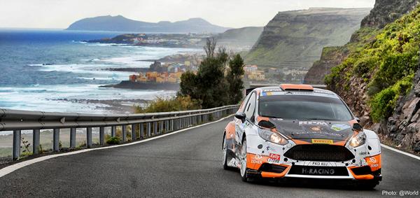 El Rally Islas Canarias, a principo de Mayo