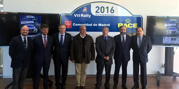 Arranca el Rally Comunidad de Madrid-RACE