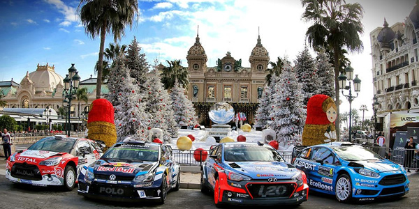 Lista de Inscritos para el Rally de Montecarlo