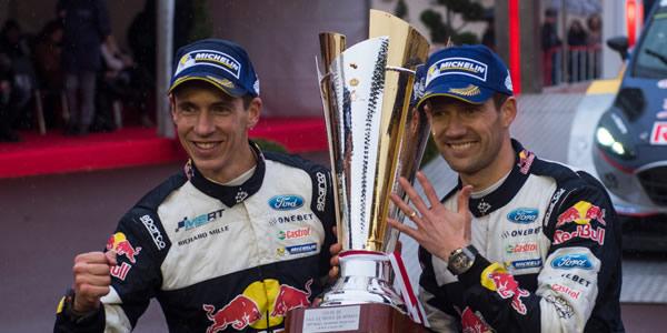 M-Sport haciendo historia. Loeb e Ingrassia