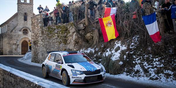 Exito de Skoda en el WRC 2 de Montecarlo