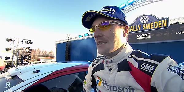 Jari-Matti Latvala gana el Rally de Suecia