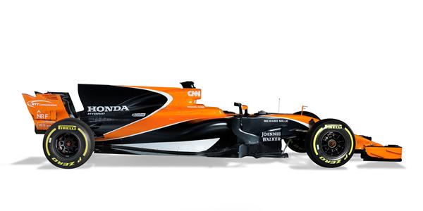 El naranja y el negro, colores de McLaren 2017