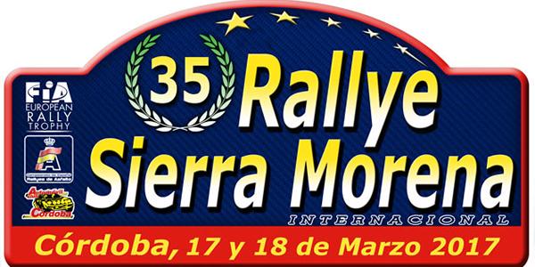 Lista de inscritos del Rallye Sierra Morena