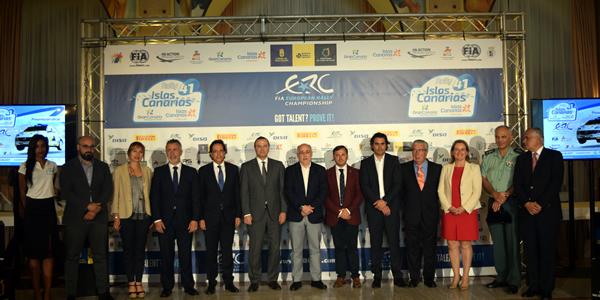 Presentación del 41 Rally Islas Canarias