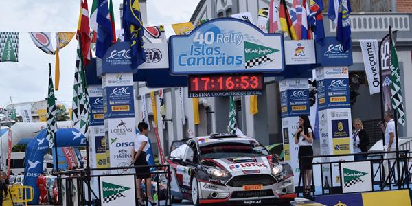 125 inscritos para el Rally Islas Canarias 2017