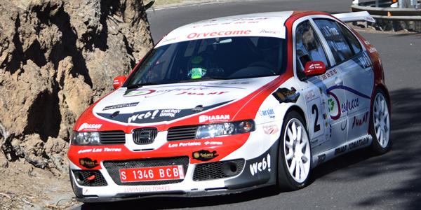Ponce - Larrodé ganan el Rallysprint de Artenara