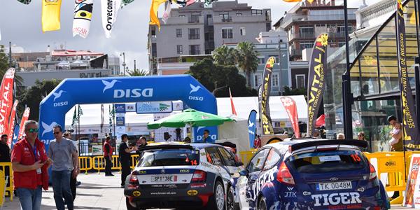 Presentaciones del Rally Islas Canarias 2017