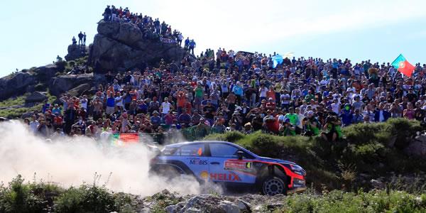 Dani Sordo busca un nuevo podio en Portugal