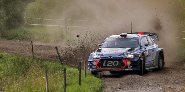 Doblete de Hyundai en el Rally de Polonia WRC 2017