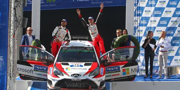Esapekka Lappi gana el Rally de Finlandia WRC 2017