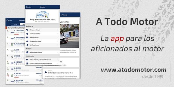 Nueva versión de la App de A Todo Motor