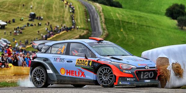Dani Sordo regresa al asfalto en el Rally de Alemania