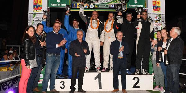 Rallye Villa de Teror 2017: victoria para Iván Armas
