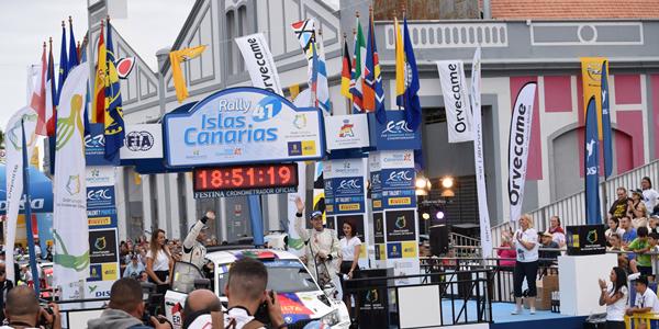 La repercusión del Rally Islas Canarias, al alza