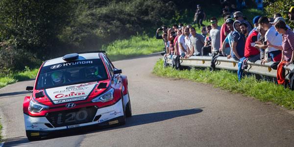 Iván Ares, Campeón de España de Rallyes en Santander
