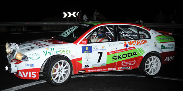Toñi Ponce vencedor del Gran Canaria Historic Rally