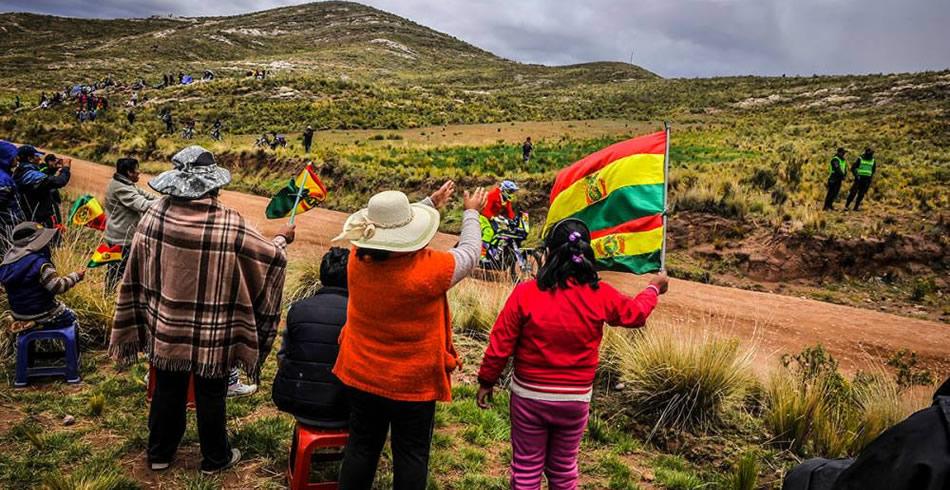Cambio de decorado en el antiplano boliviano