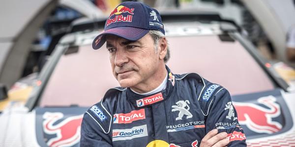 Carlos  Sainz, penalizado con diez minutos