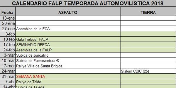 Avance de pruebas en la provincia de Las Palmas