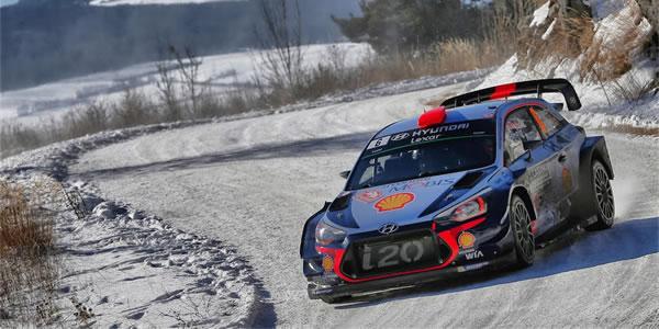 Dani Sordo listo para el Rally Montecarlo 2018