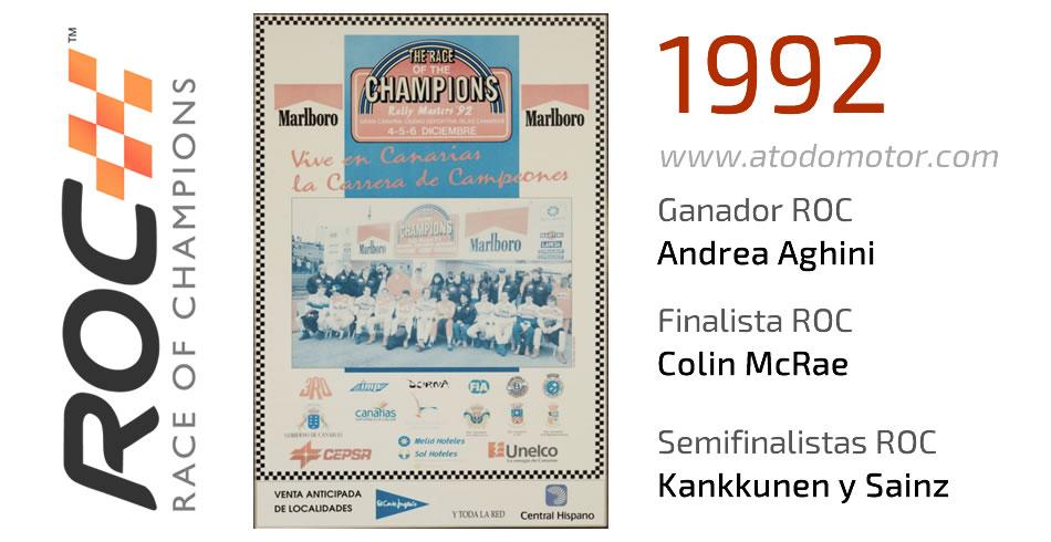 Race Of Champions 1992 - Carrera de Campeones 1992