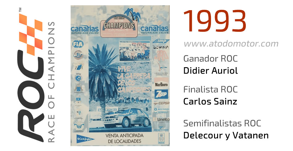 Race Of Champions 1993 - Carrera de Campeones 1993