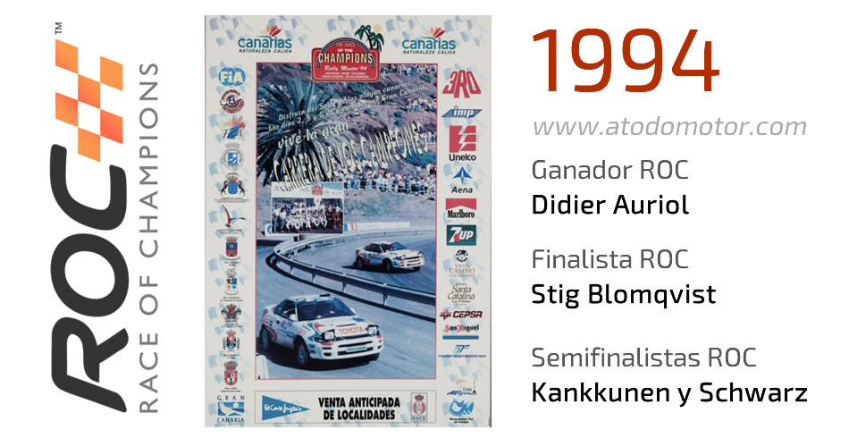 Race Of Champions 1994 - Carrera de Campeones 1994
