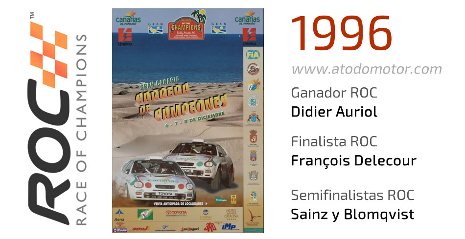 Race Of Champions 1996 - Carrera de Campeones 1996