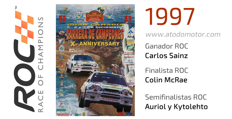 Race Of Champions 1997 - Carrera de Campeones 1997