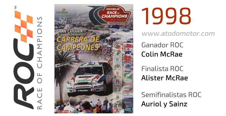 Race Of Champions 1998 - Carrera de Campeones 1998
