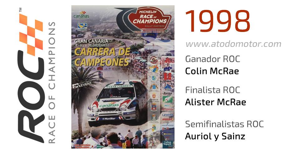 Race Of Champions 1998 - Carrera de Campeones 1998