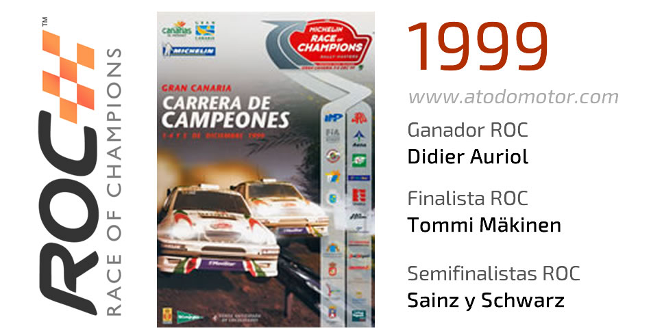 Race Of Champions 1999 - Carrera de Campeones 1999