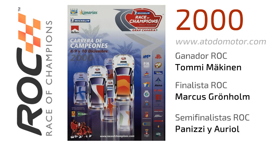 Race Of Champions 2000 - Carrera de Campeones 2000