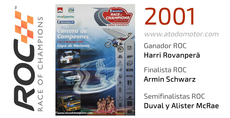 Race Of Champions 2001 - Carrera de Campeones 2001