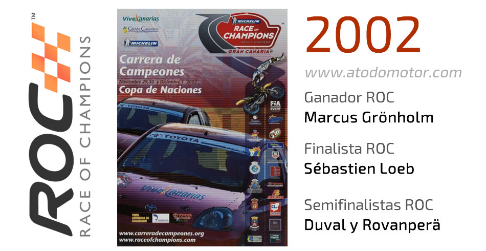 Race Of Champions 2002 - Carrera de Campeones 2002