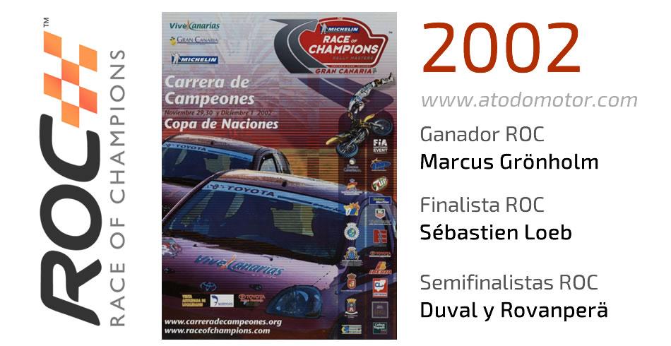 Race Of Champions 2002 - Carrera de Campeones 2002
