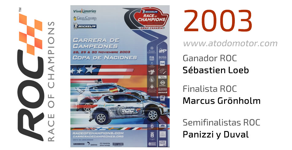 Race Of Champions 2003 - Carrera de Campeones 2003